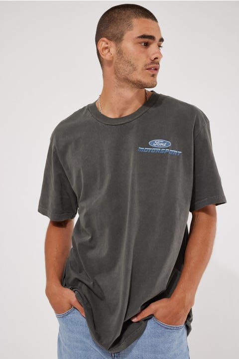 Rolla's Ford Motorsport Tee Washed Black