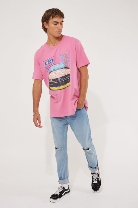 Rolla's Ford Thunder Tee Pink