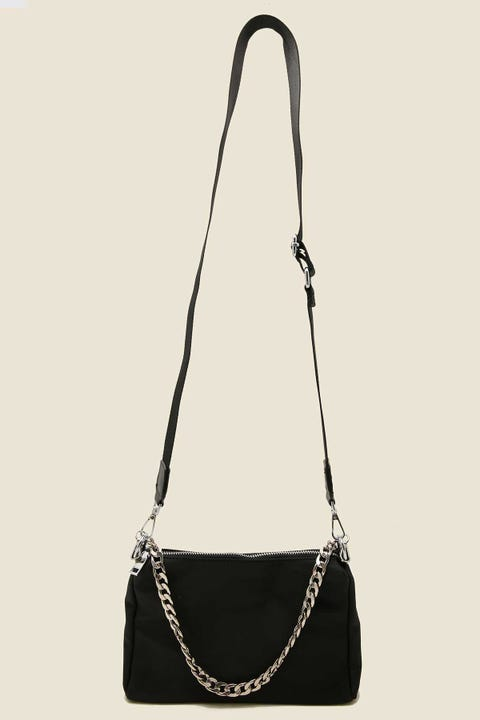 TOKEN Lissy Crossbody Bag Black Nylon
