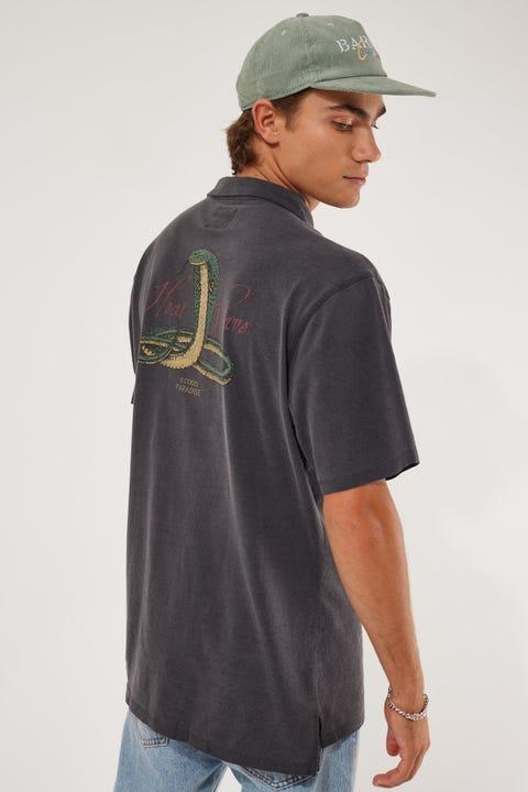 Barney Cools Black Cobra Comfy Shirt Black Cobra