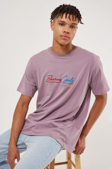 Barney Cools Neon Club Tee Lilac