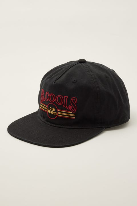 Barney Cools Vintage Club 5 Panel Black