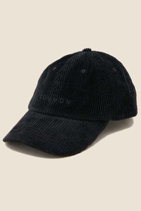 Common Need Ken Cord Cap Black