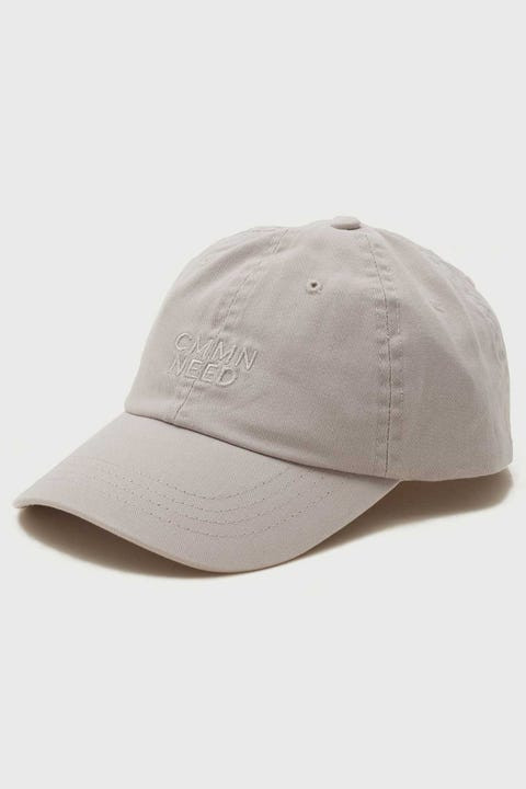 Common Need Gus Cap Washed Grey