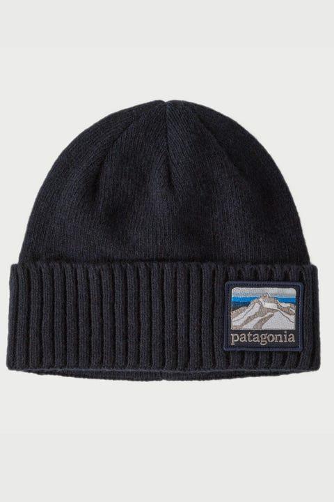 Patagonia Brodeo Beanie Navy Line Ridge Logo