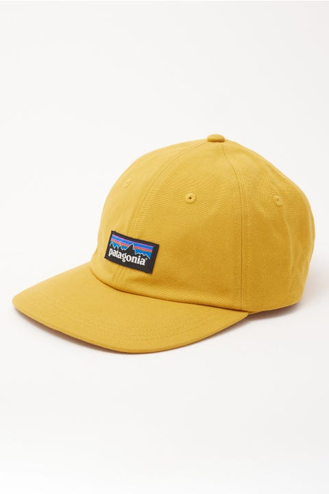 Patagonia P-6 Label Trad Cap Buckwheat Gold