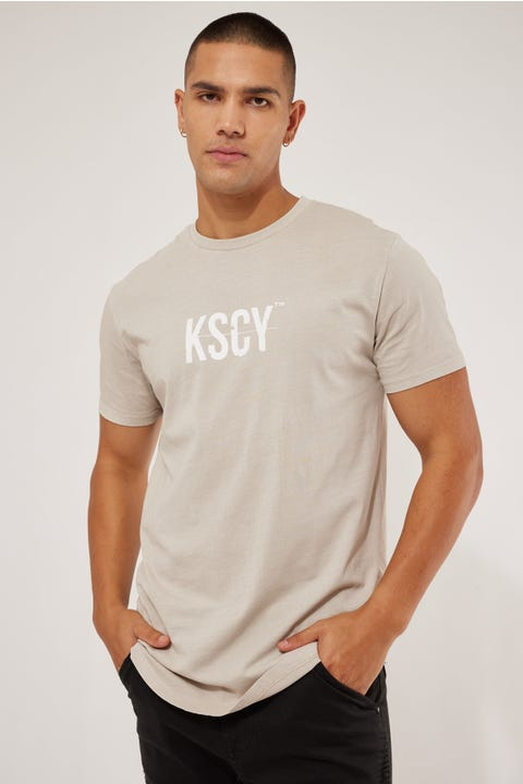 Kiss Chacey Chariot Dual Scoop Tee Pigment Stone