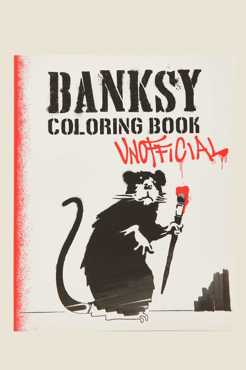 Unofficial Banksy Coloring Book