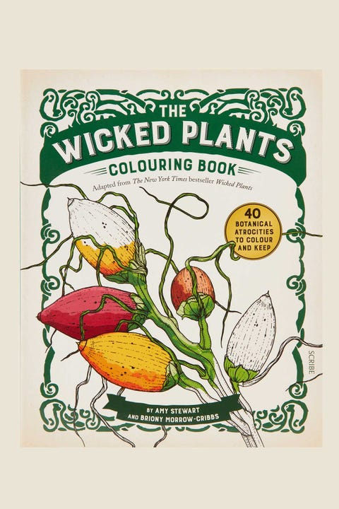 Wicked Plants Colouring Book