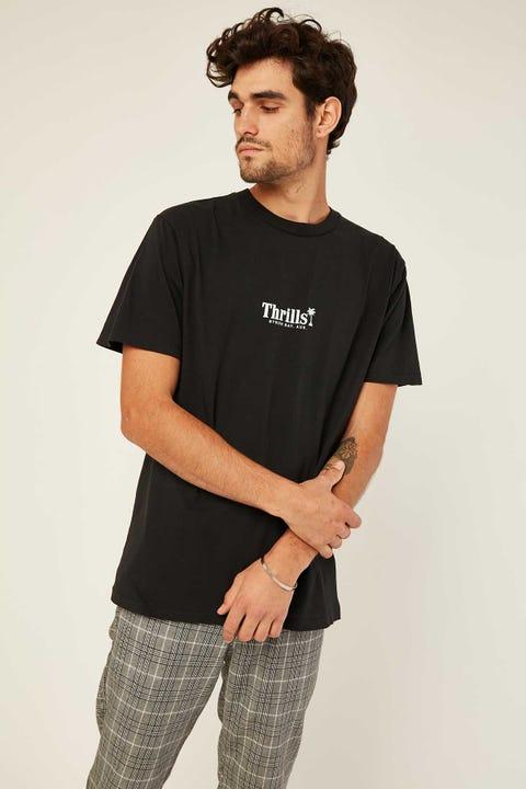THRILLS Palm Of Thrills Merch Fit Tee Black