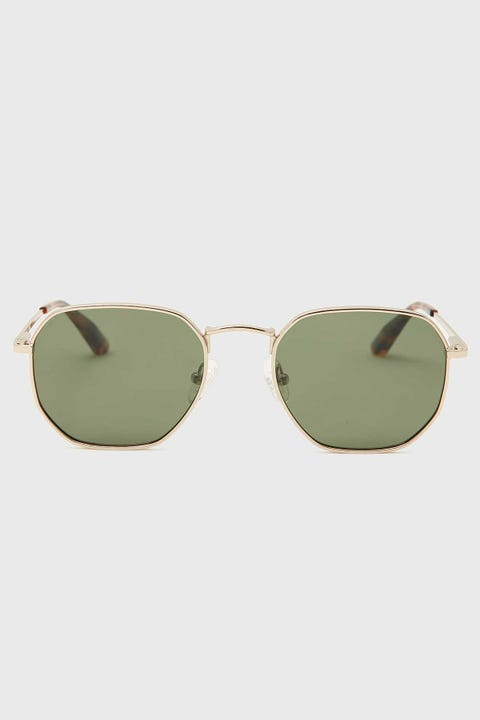Local Supply DXB Polished Gold/Dark Green
