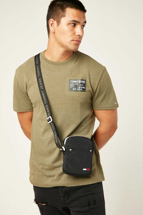 TOMMY JEANS TJM Black Label Tee Uniform Olive