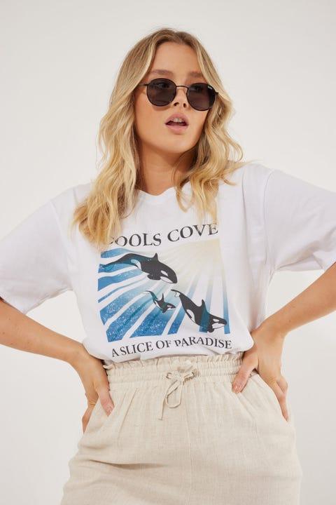 Cools Club Orca Tee White