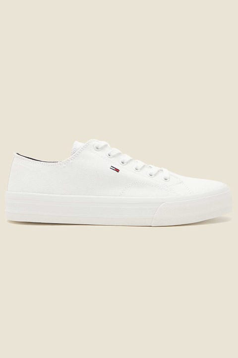 TOMMY JEANS Long Lace Up Vulc White
