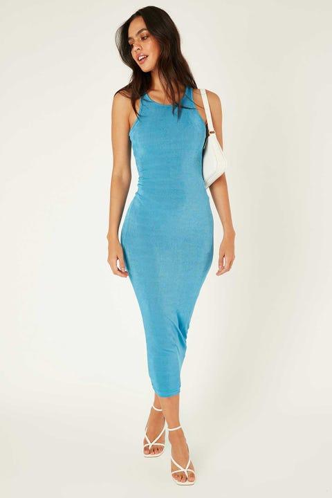Lioness Everlast Dress Blue