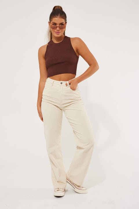 Abrand A 94 High & Wide Cord Pant Real Love Cord
