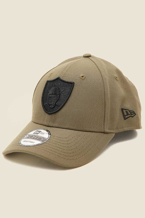 NEW ERA 9Forty Las Vegas Raiders Olive/Black/Black