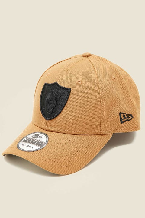 NEW ERA 9Forty Las Vegas Raiders Wheat/Black/Black