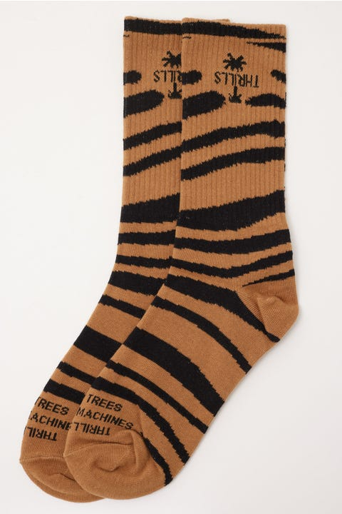Thrills Disrupted Paradise Sock