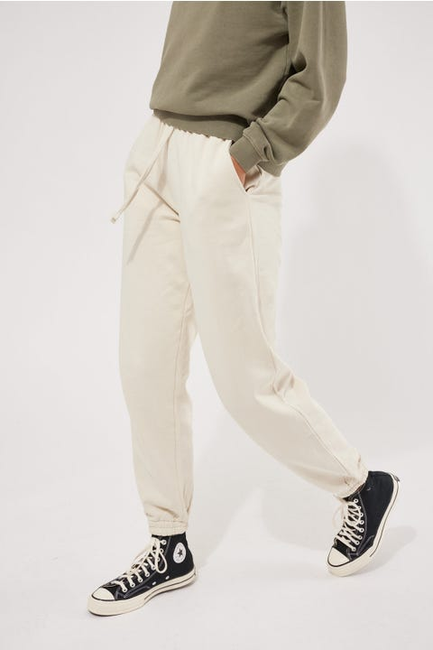 Thrills Established Track Pant Heritage White