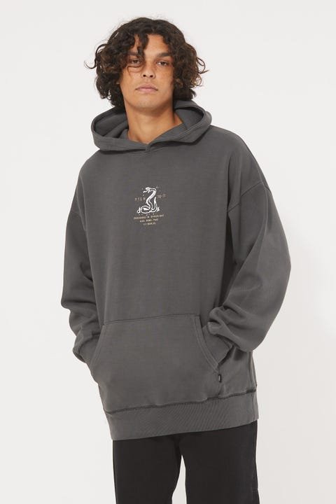 Thrills Napalm Slouch Pull On Hood Merch Black