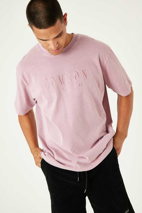 Common Need Sense Boxy Tee Washed Orchid