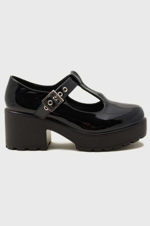 Koi Footwear Sai Black Patent