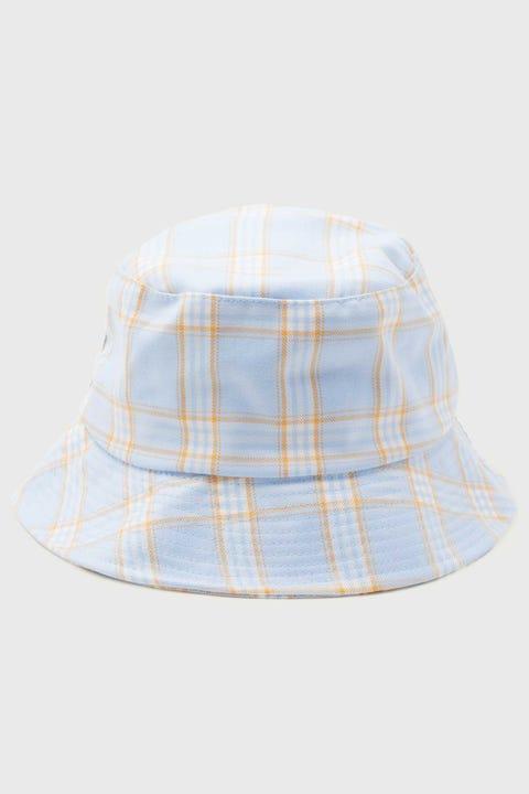 Token Check Bucket Hat Blue