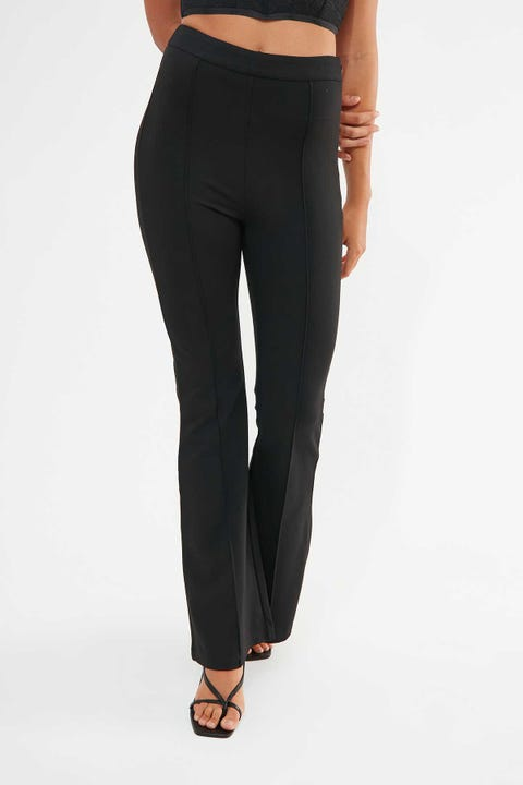 Perfect Stranger Midnight Flare Pant Black
