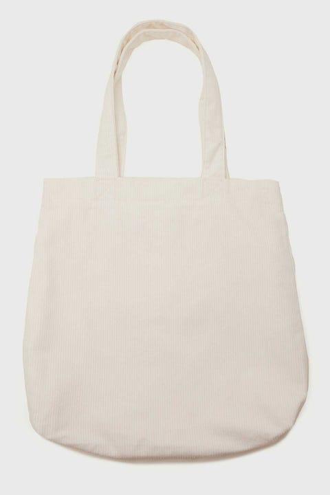 Token Cali Cord Tote Bag Off White