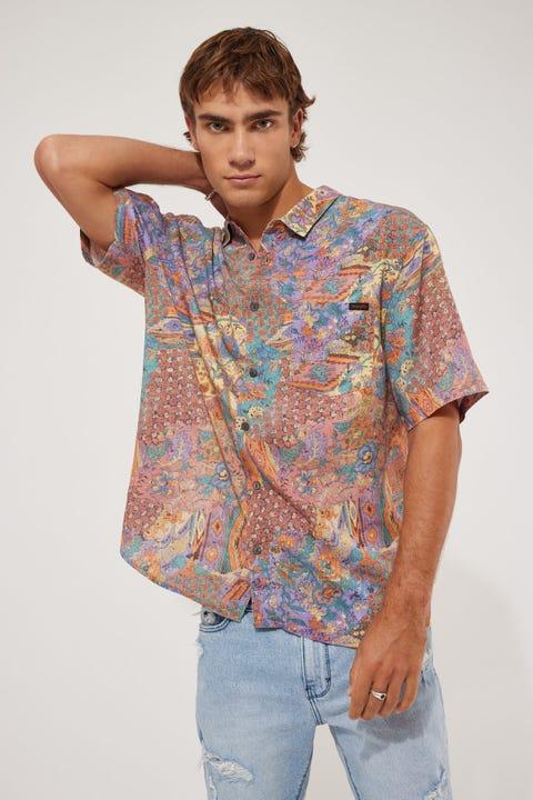 Wrangler Passerby Shirt Gordie Patchwork