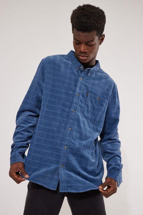 Wrangler In The Pines LS Shirt Blueprint