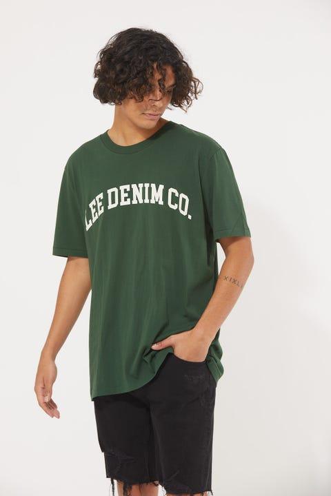 Lee Lee Denim Co. Tee Army Green