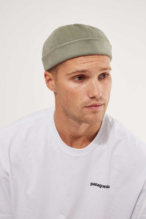 Common Need Brooklyn Docker Cap Olive