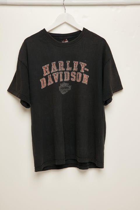 The People Vs Harley Collector Tee Vintage Black
