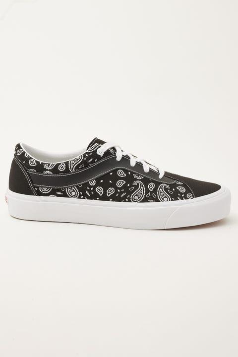 Vans Bold NI (Paisley) Black/White