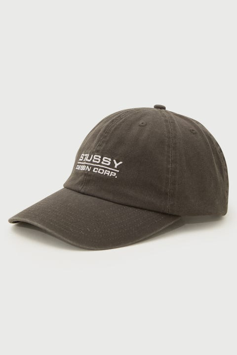 Stussy Corp. Low Pro Cap Black