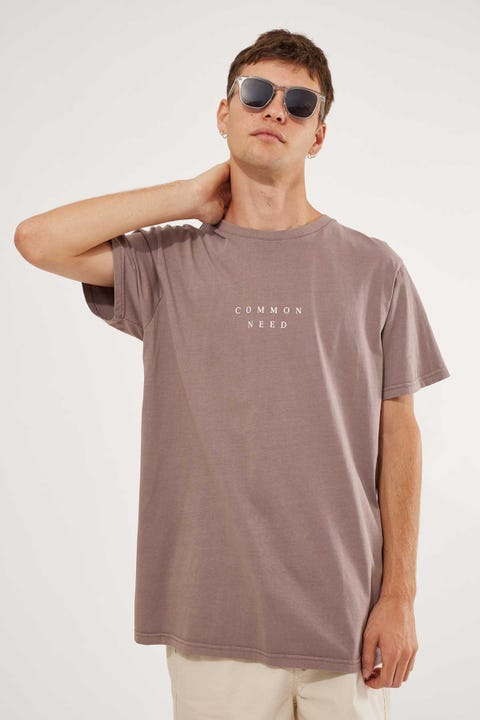 Common Need Leading Tee Mauve
