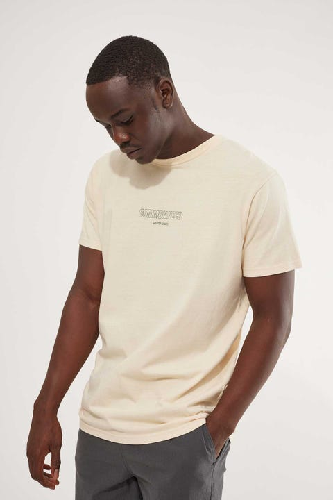 Common Need Keyline Stacker Tee Natural
