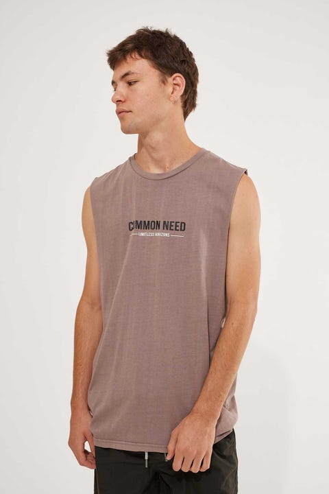 Common Need Intense Muscle Tank Mauve