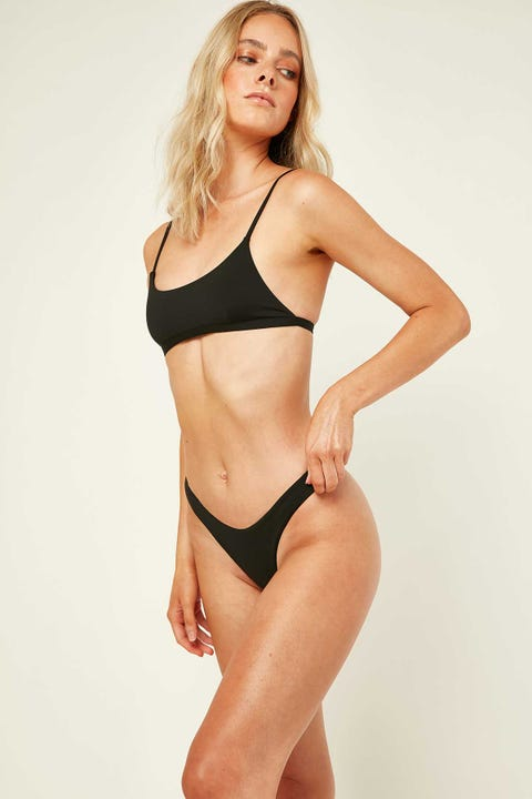 Lahana Swim Luna Bottom Matte black