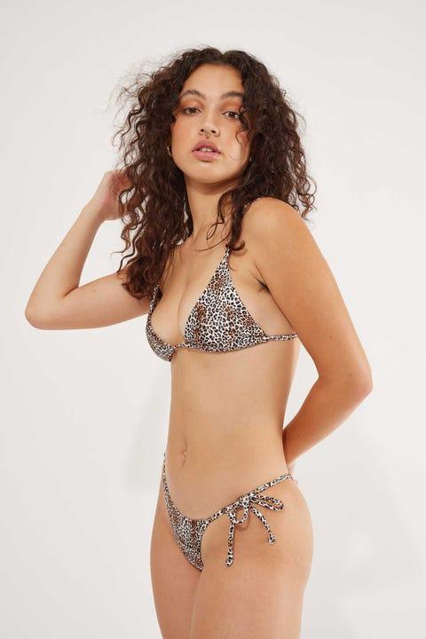 Lahana Swim Amara Top Leopard