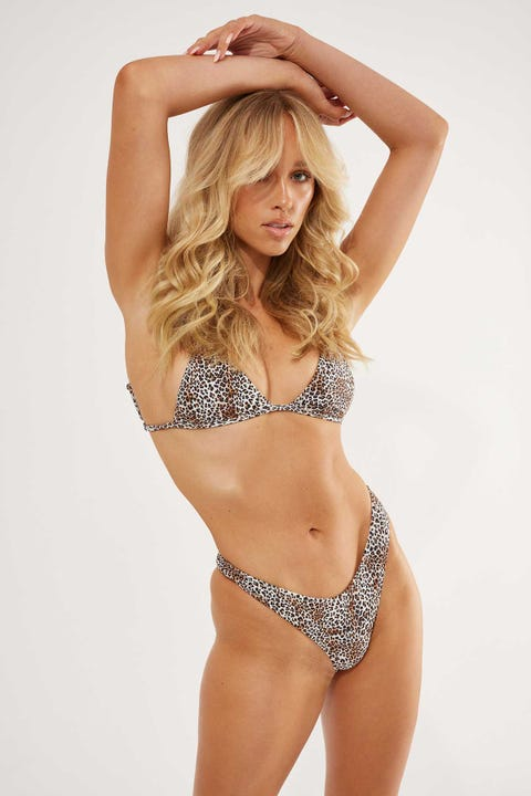 Lahana Swim Piper Bottom Leopard