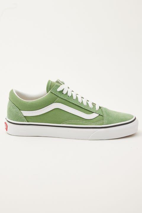 Vans Old Skool Shale Green/True White