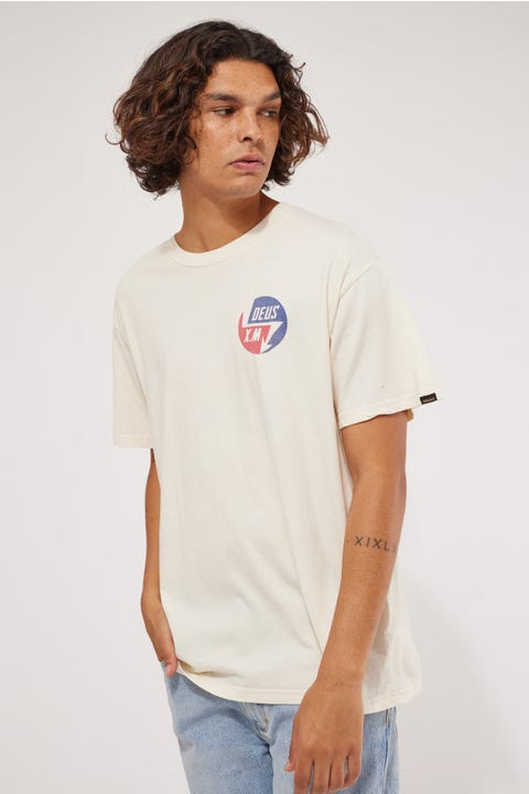 Deus Ex Machina Volts Tee Dirty White