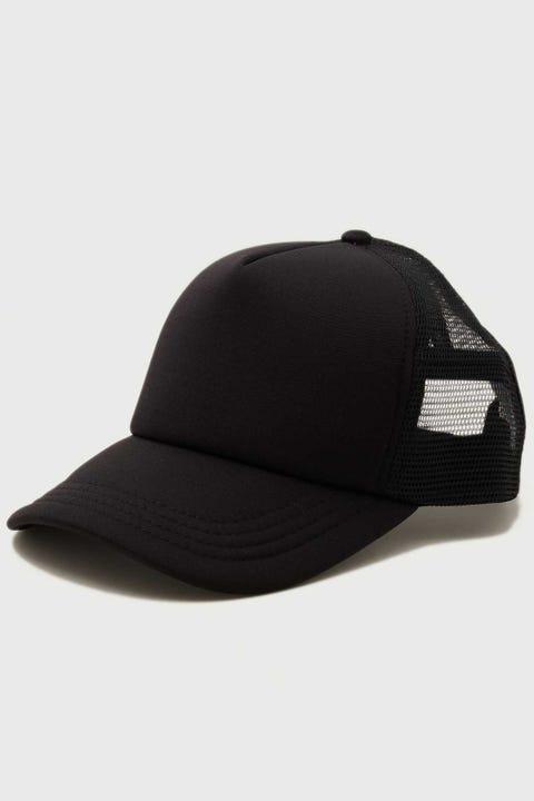 Common Need Zane Trucker Cap Black