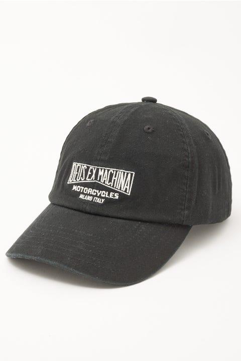 Deus Ex Machina Fortitude Cap Black
