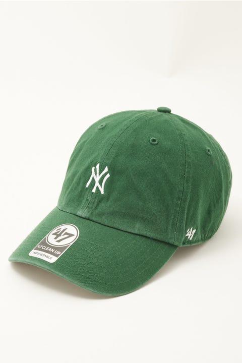47 Brand Clean Up Baserunner NY Yankees Dark Green