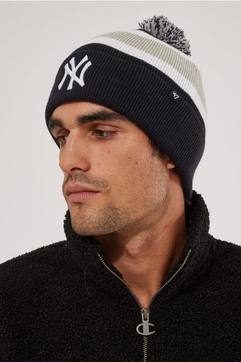 47 Brand Breakaway Pom Knit Beanie NY Yankees Navy
