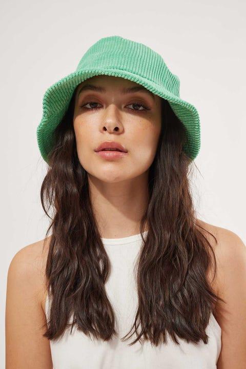 Token Coordination Bucket Hat Bright Green
